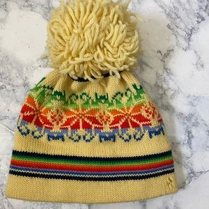 Vintage aris ski hat wool